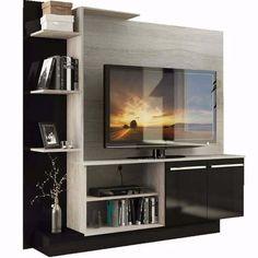 Smart home TV pole Tv Unit Furniture Design, Tv Unit Design, Tv Furniture, Tv Unit Decor, Tv Wall Decor, Tv Rack Design, Ui Design, Tv Showcase Design, Smart Tv Samsung