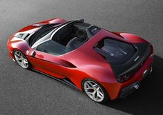 The Ferrari California was unveiled at the 2008 Paris Motor Show. The car went into production in 2008 and is still being produced by Ferrari. The car is available as a 2 door grand tourer coupe and as a hard top convertible. Ferrari F40, Ferrari 2017, Atelier Automobile, Supercars, Bespoke Cars, F12 Berlinetta, Ferrari California, Roadster, Car Manufacturers