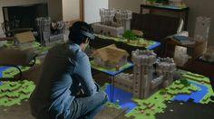 Microsoft pakt uit met een holografische bril. De computer van de toekomst integreert naadloos in je omgeving met manipuleerbare hologrammen. | ZDNet