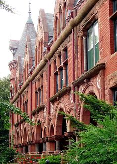 Rowhouses in Saint Paul, Minnesota   All sizes | red brick, via Flickr.