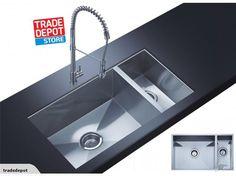 Sink Undermount Bowl 1 1/2 NEW Chrome | Trade Me