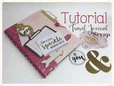 Nos vamos de viaje, vamos a hacer un Travel Journal, preparadas, listas...ya!!! Aquí abajo os dejo los enlaces delos materiales que he utilizado. http://www....