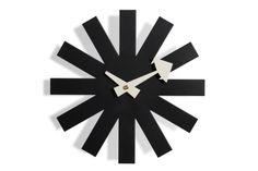George N. Black Asterisk Clock