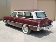 '54 Studebaker Conestoga Wagon. I love that they named it after the most iconic wagon of all time.