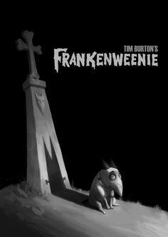 Frankenweenie artwork by the Helen Chen