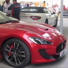 regram @jbautophotography Maserati Gran Turismo MC Stradale  Maserati Gran Cabrio MC Stradale @fosgoodwood #maserati #granturismo #grancabrio #mcstradale #granturismomcstadale #grancabriomcstradale #red #white #italian #supercar #sportscar #spyder #convertable #driv3n #gumballteam57 #fos by harri_h47