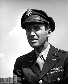 Colonel Jimmy Stewart.Commander of the Second Combat Wing of the Eighth Air Force.Flew 20 missions over Europe including one on Berlin.