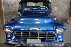 Chevrolet, Marta Rocha, 3100, 1956, Azul