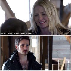 Captain Swan>>>>>> HIS FACE THOUGH. Gosh I feel just so so bad for hook lately, everyone is doubting him and really he's just such a good guy :'(
