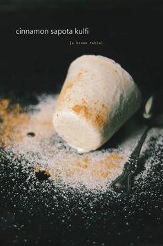 cinnamon sapota kulfi@abrowntable