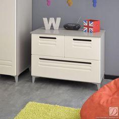 Kommode Finchley ivory B92cm MDF - Diese modernen Zimmermöbel sorgen auf jeden Fall für Wohlfühlstimmung. Durch den trendigen schlichten Look sehen Sie immer wieder gerne hin.