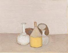 Giorgio Morandi (Italian, 1890-1964), Natura morta, 1953. Oil on canvas, 35.2 x 45.5 cm.