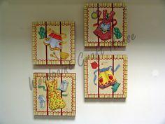 #painting #countrypainting #decopage #handpainting #gift #elyapımı #ahşapboyama #3d decoupage #hamur ile kabartma #decopaj #elleboyama #hediyelik #WoodpoinCraftHouse #pano #mutfak #kitchen #önlük #stencil #DIY