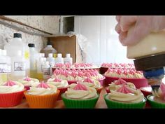 Edens Secret - Decorating the Soap Cakes P1000622 - YouTube