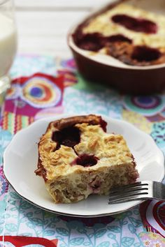 Sernikowa owsianka z owocami - przepis Marty Muesli, Banana Bread, Muffin, Good Food, Food And Drink, Cooking, Breakfast, Desserts, Recipes