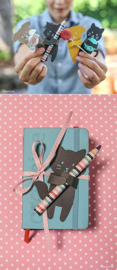 Treat huggers back to school creative gift wrap www.LiaGriffith.com