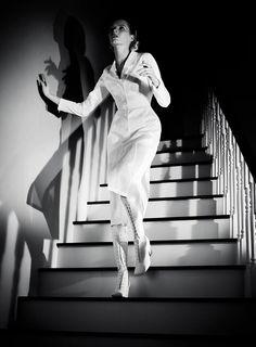 Model: Daria Strokous | Photographer: Willy Vanderperre - for Jil Sander Spring 2012