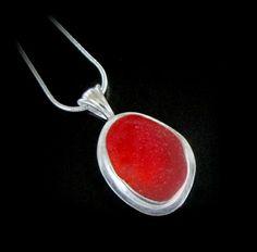 Rare Red Sea Glass  WestCoastSeaGlass.com