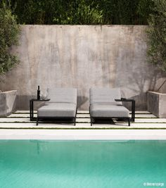 Contemporary bar chair / upholstered / with armrests / with removable cushion - LOVE SG - Drigani Galliano Snc Outdoor Lounge, Outdoor Decor, Contemporary Bar, Bar Chairs, Upholstered Chairs, Sun Lounger, Cushions, Outdoor Furniture, Design