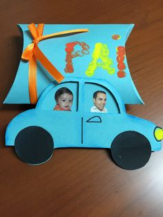 For father's day Diy And Crafts, Crafts For Kids, Paper Crafts, Mother And Father, 4 Kids, Kids Education, Preschool Activities, Holiday Fun, Fathers Day