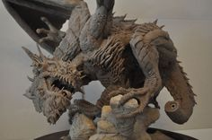Dragon Wyrm Sculpt WIP 10 by AntWatkins.deviantart.com on @deviantART