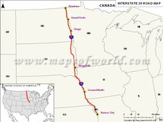 USA Interstate Map Map Of The Day Pinterest Interstate - Map of usa with interstates