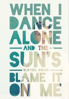 Blame It On Me - George Ezra #lyrics #retype