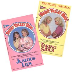 Sweet Valley High books!!!! Read every single one!