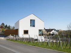 Ansicht West - Wohnhaus am Kieselberg