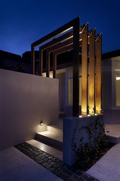 Entrance Lighting, Facade Lighting, Pathway Lighting, Landscape Lighting, Lighting Design, Exterior House Lights, Led Replacement Bulbs, Step Light, External Lighting