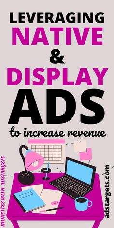 Increase your revenue with Native advertising and Display ads! Native advertising is the use of paid ads that match the look, feel and function of the media format in which they appear. #nativeadvertising #marketing #advertising #digitalmarketing #ads #nativeads #onlineadvertising Native Advertising, Display Advertising, Display Ads, Online Advertising, Online Marketing, Digital Marketing, Youtube Advertising, Popular Ads, Google Ads