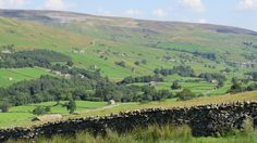 Another image of Swaledale - located in the northern part of the Dales.