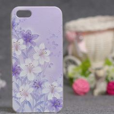3D Printed Ultra Thin Soft Silicon Fashion Back Floral Design Cover For iPhone 5s case for iphone 5 phone cases Soft TPU Cover For iPhone SE