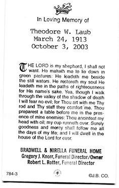 90 1/2 yrs. old. RIP Dad.....