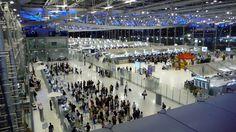 Der Bangkoker Flughafen Suvarnabhum