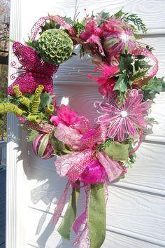 All Season Wreath by cindyspangler on Etsy, $95.00