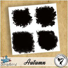 CU#17 - Autumn masks - by Black Lady Designs