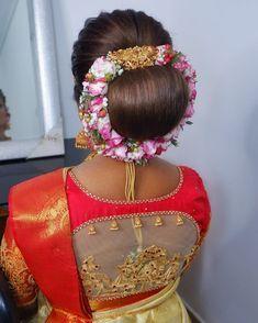 New Bridal Hairstyle, Bun Hairstyles, Hair Styles, Bangs, Hair Plait Styles, Hair Makeup, Hairdos, Haircut Styles, Hair Cuts