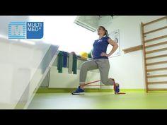 Rehabilitacja nóg. Ćwiczenia z taśmą rehabilitacyjną Thera-Band na wzmocnienie nóg - MULTI MED - YouTube Bandy, Gym Equipment, Youtube, Workout Equipment, Youtubers, Youtube Movies