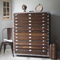 Vintage Industrial Flat File Cabinet — Apartment Therapy Marketplace | Apartment Therapy
