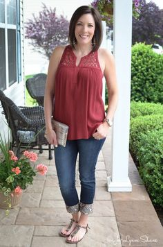 Casual Outfit ideas for women over 40 featuring @kuhfsbyamyolson, @stitchfix, and @dl1961 jeans.