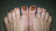 Halloween toes by Stormy!!