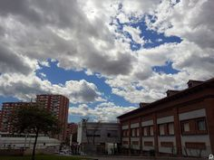 Clouds in Barcelona