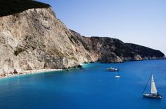 The famous beach of Porto Katsiki to Lefkada island. What to say about this place? Just impressed.