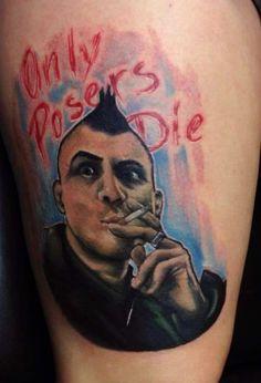 SLC Punk Tattoo, Heroin Bob.
