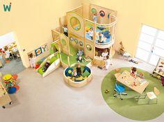 Klettergerüst Wehrfritz : Die 7 besten bilder von spielecken kids room kindergarten und