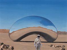 "Scott Listfield's""Astronaut"" at... - SUPERSONIC ART"