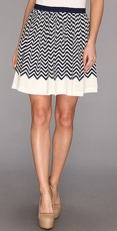 Pretty #chevron skirt http://rstyle.me/~1KBpB