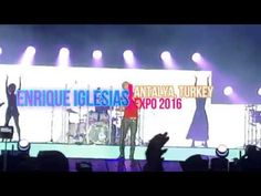 Enrique Iglesias Concert in Expo 2016 Antalya - YouTube Enrique Iglesias Concert, Antalya, Channel, Music, Youtube, Musica, Musik, Muziek, Music Activities