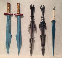 Thor's Gladiator Swords, Hela's Swords and Valkyrie's Sword from The Potions Mistress